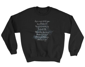 Skye Boat Song Outlander Theme Fan Tall Ship Sweatshirt
