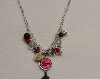 Heart Felt - Charm necklace, personilizable jewelry pre-made and MTO