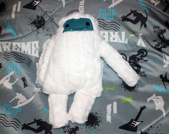 Oh my monster, monster plush, monster stuffy, yeti, abominable snowman, bigfoot, sasquatch, boy toy girt toy