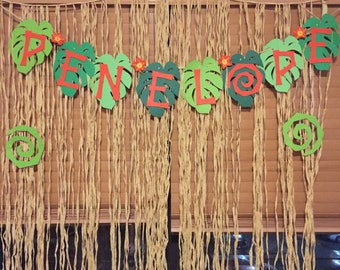 Moana Inspired banner/Moana/Hawaii