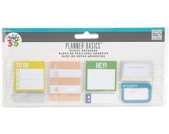MAMBI The Happy Planner Sticky Notes Neon