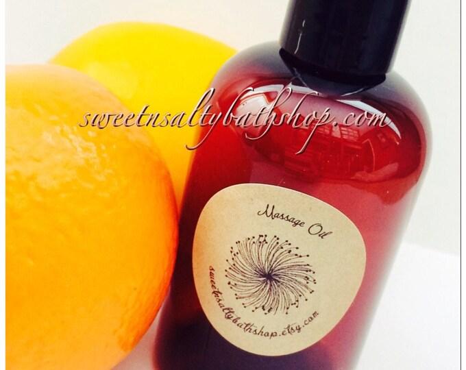 Awaken Citrus Massage Oil