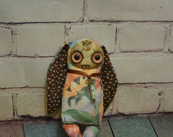 Collectible toy is completely handmade. OOAK