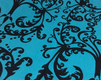 1 Yard (36 inches) of Grace in Blue from Cocoon by Valori Wells for Free Spirit Pattern # PWVW046