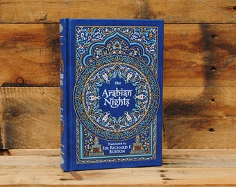 Hollow Book Safe - Arabian Nights - Leather Bound