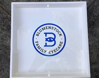 Your Logo Here! Custom tray with your company's logo!