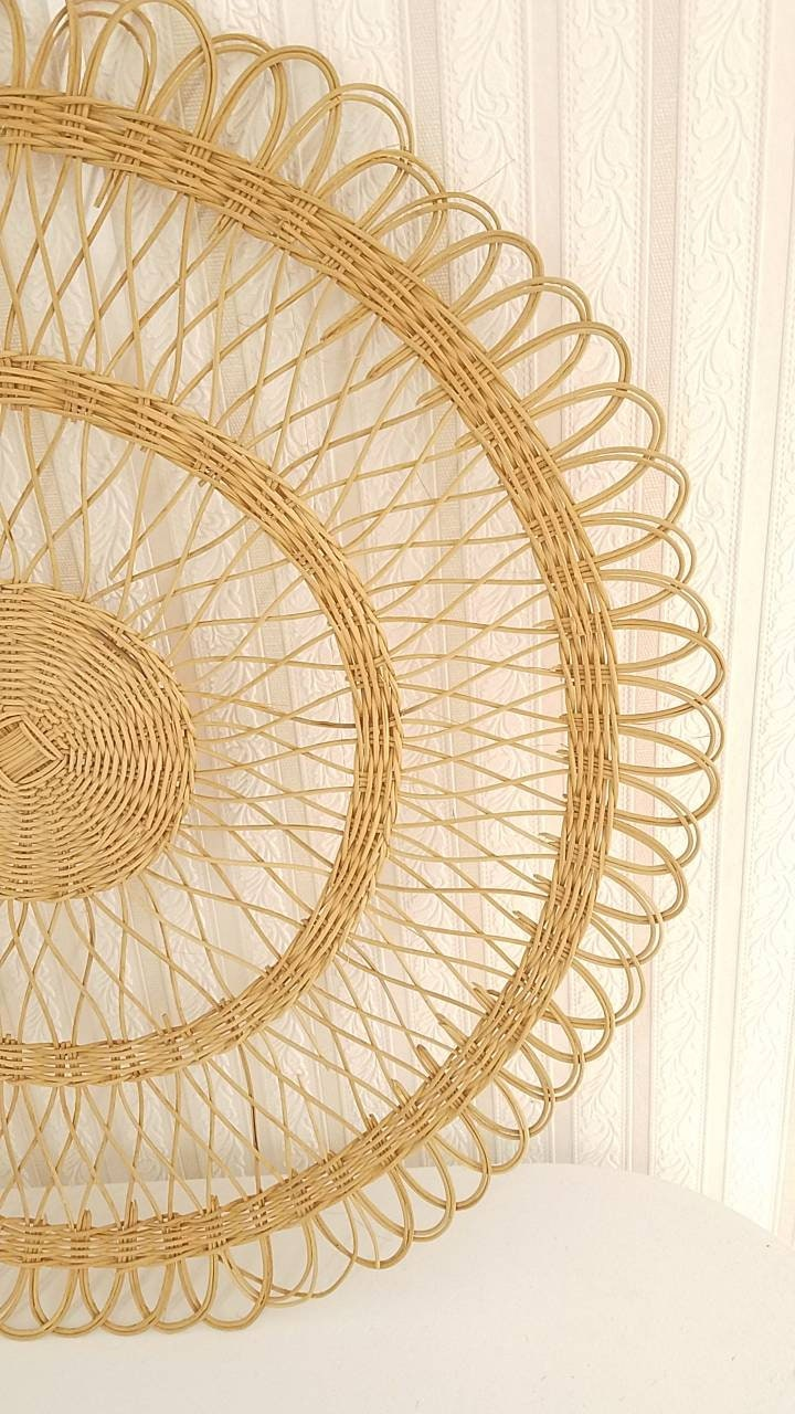 Fantastic Wicker Wall Art Motif - The Wall Art Decorations ...