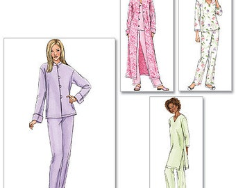 Butterick Pattern B4406 Misses'/Misses' Petite Jacket, Robe, Top, Tunic and Pants
