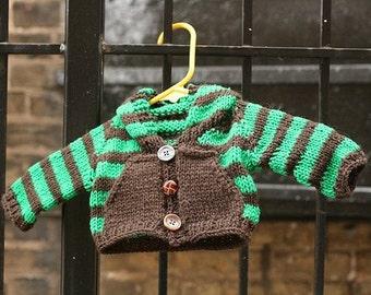 Baby Sweater Buffet Knitting Pattern