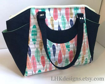 Commuter Annette purse handbag work bag travel size