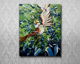 """Sparrow's Joy 16""""x20"""" giclee print on canvas"""