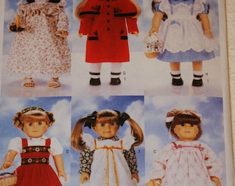 New Butterick 18' doll Clothes Pattern B5589