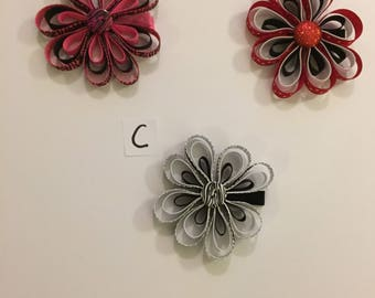 Flower Shaped Hairbow