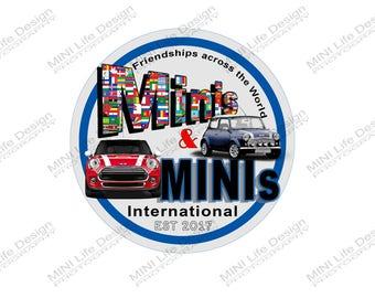 Grill Badge- Minis & MINIs International group