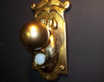 Alice In Wonderland Doorbell Cover Switch 3D Working Prop