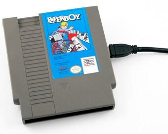 NES Hard Drive -  Paperboy  USB 3.0