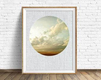 "landscape photography, large art, large wall art, instant download printable art, digital download, wall art, prints - ""Dirt Road Sunset"""