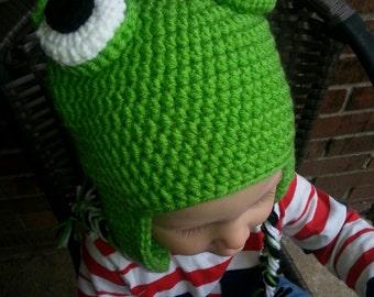 Crocheted Froggie Hat