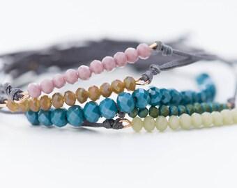 Set of 5 Bracelets, Beaded Bracelets, Boho Bracelets, Stacking Bracelets, Colourful Bracelets, Macrame Bracelets, Summer Bracelets, Jewelry