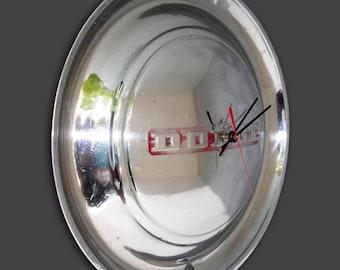 1949 - 1950 Dodge Hubcap Clock - Mopar Classic Car Wall Clock