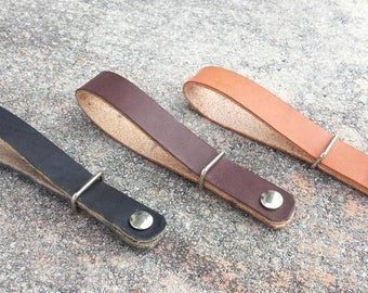 Deluxe Leather Guitar Strap Universal Adapter Perfect for Guitar, Banjo Strap, Mandolin Strap. Made in the USA real Leather