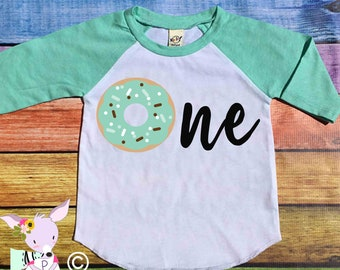 Birthday Shirt Donut Party Donut with Age birthday shirt any age Kids Donut Birthday Shirt donut party shirt donut birthday Donut Party