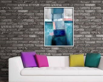 Home decor painting . jpg printable digital poster instant download . abstract .  decoration
