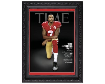 Colin Kaepernick 'The Perilous Fight' Time Magazine October 2016 Issue Cover Poster or Art Print