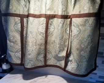 Brown/Blue Glamper Curtain