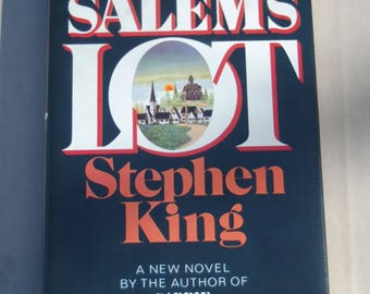 Stephen King's Salems Lot Book Club First Edition