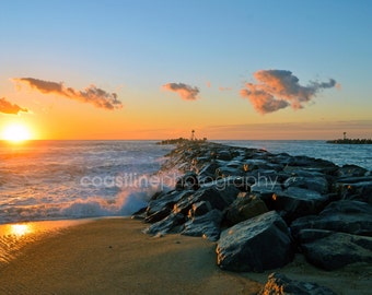 Jersey Shore Prints, Manasquan, Mansquan Inlet, Beach, Beach Photography, Sunrise, Sunrise Photography, Ocean Prints, NJ, Beach Prints