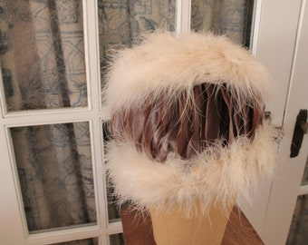 Vintage 1950's Feather Hat