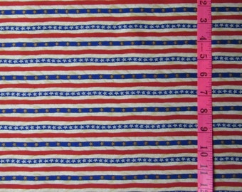STARS and STRIPE Boy Scouts of America Fabric By The Yard