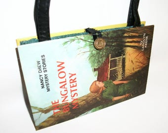 Nancy Drew Book Purse Bungalow Mystery Handbag Vintage Book Purse