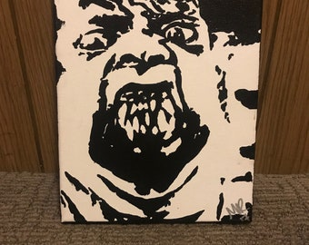 The Thing ORIGINAL Painting