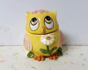 Vintage Owl Shaker Soap Shaker