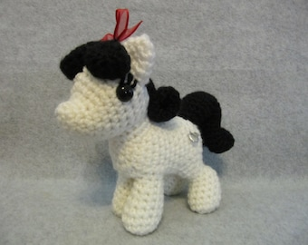 Chibi Snow White Pattern - My Little Pony
