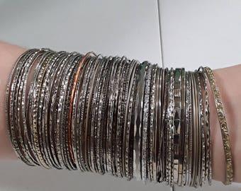 Large lot of bracelets lot O used