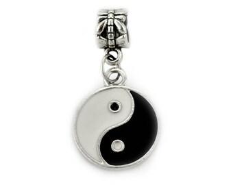 Yin Yang European Bead Charm