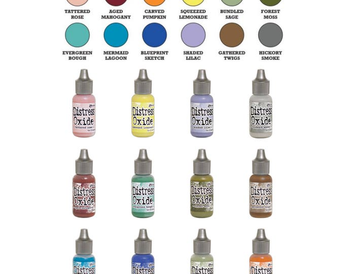 "Featured listing image: Tim Holtz Ranger Distress Oxide Reinkers 2018 Release ""I Want it All Bundle #3"" includes all 12 Colors ""BRAND NEW"""