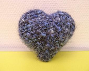 A heart! handmade amigurumi