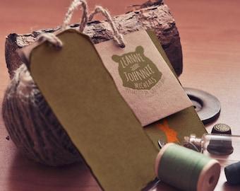 Wilderness - Bear, Return Address Stamp, Custom, 3x2