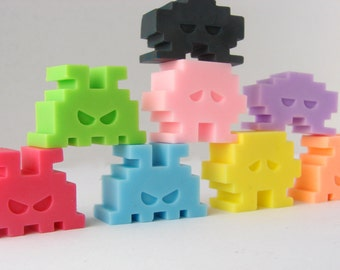 Cheeky little soap invaders