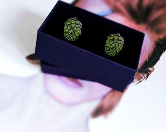 Beer Hop Cufflinks