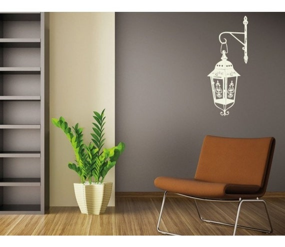Lamp Deco Wall Decal by StyleandApplyDecals