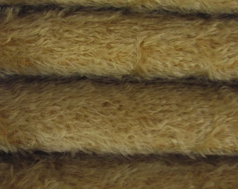 Quality 300S/C - Mohair - 1/4 yard (Fat) in Intercal's Color 322S-Buckwheat. A German Mohair Fur Fabric for Teddy Bear Making, Arts & Crafts