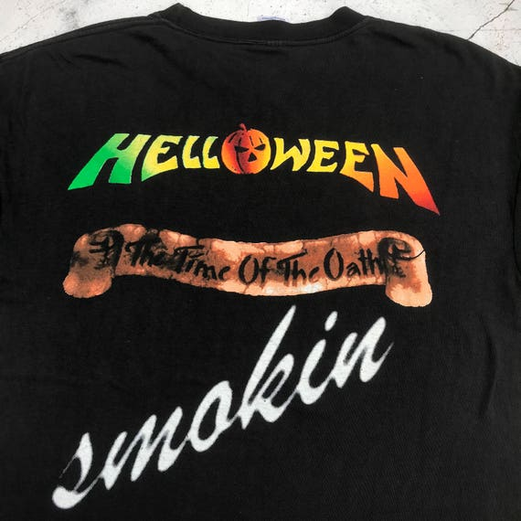 HELLOWEEN Band T of the time shirt The Large Size Vintage 1996 oath cayny5