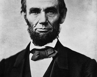 Abraham Lincoln Presidential Portrait Photo