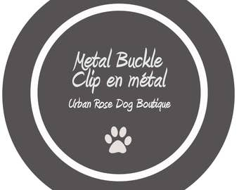 Metal Buckle Urban Rose Dog Boutique #Metal Buckle