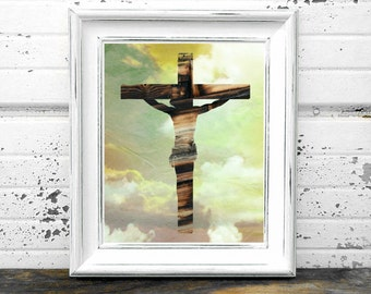 Cross,#Jesus,#God,#Lord,#Calvary,#Christian,#Christ,LoveonaCross,#Comingontheclouds,#Bible, #Printable, #DIYDecor, #HomeDecor,#Wood